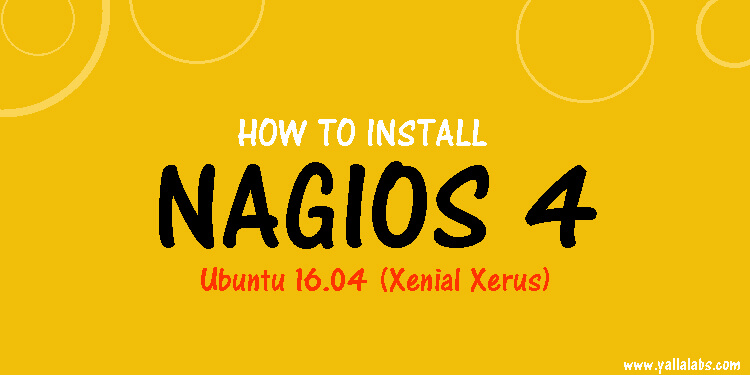 how to install nagios on ubuntu 16 lts