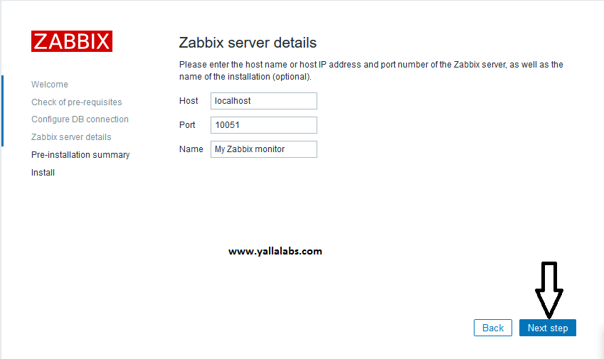 How To Install Zabbix on centos7 - 04