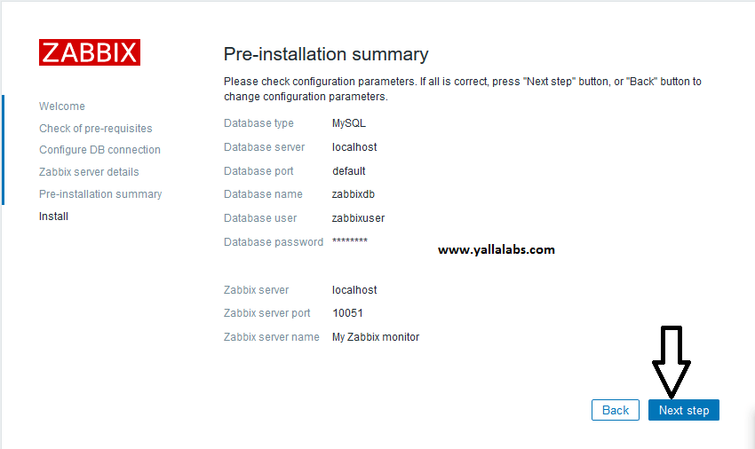 How To Install Zabbix on centos7 - 05