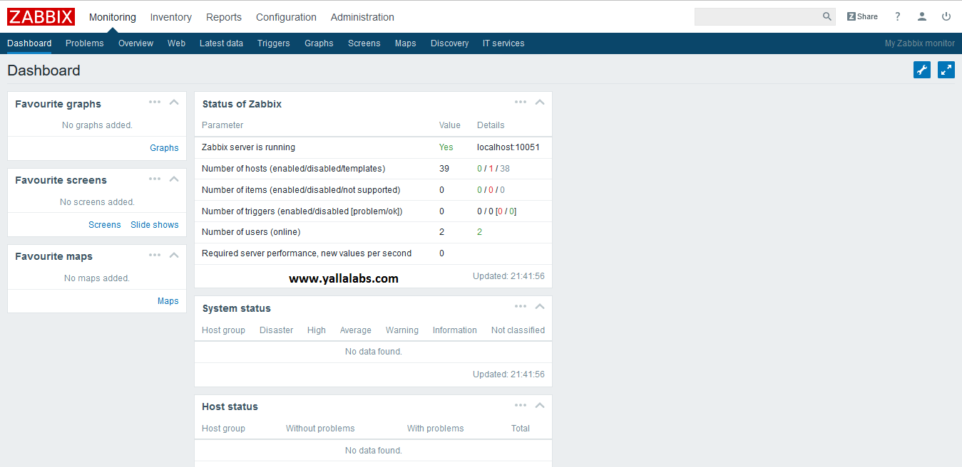 How To Install Zabbix on centos7 - 08