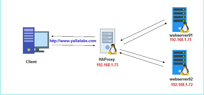 How to setup HAProxy as Layer 7 Load Balancer for Nginx on