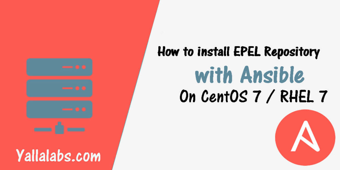 How to install EPEL Repository with Ansible on CentOS 7
