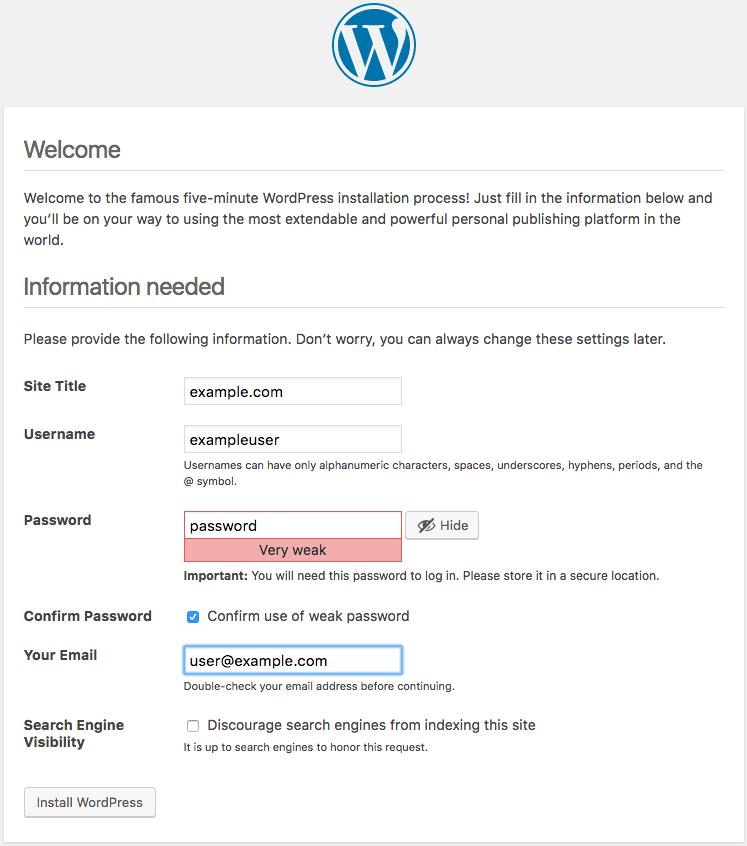 How To Install WordPress with LAMP Stack on Ubuntu 16 04 - YallaLabs