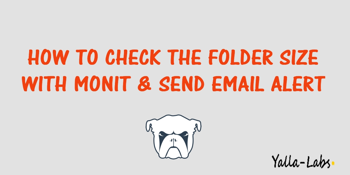 today we will show you how to check the size of a folder with monit using a shell script and to send alert mail in case of exceeding an allowable certain