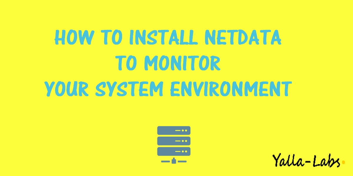 How To install Netdata to monitor your Linux Environment
