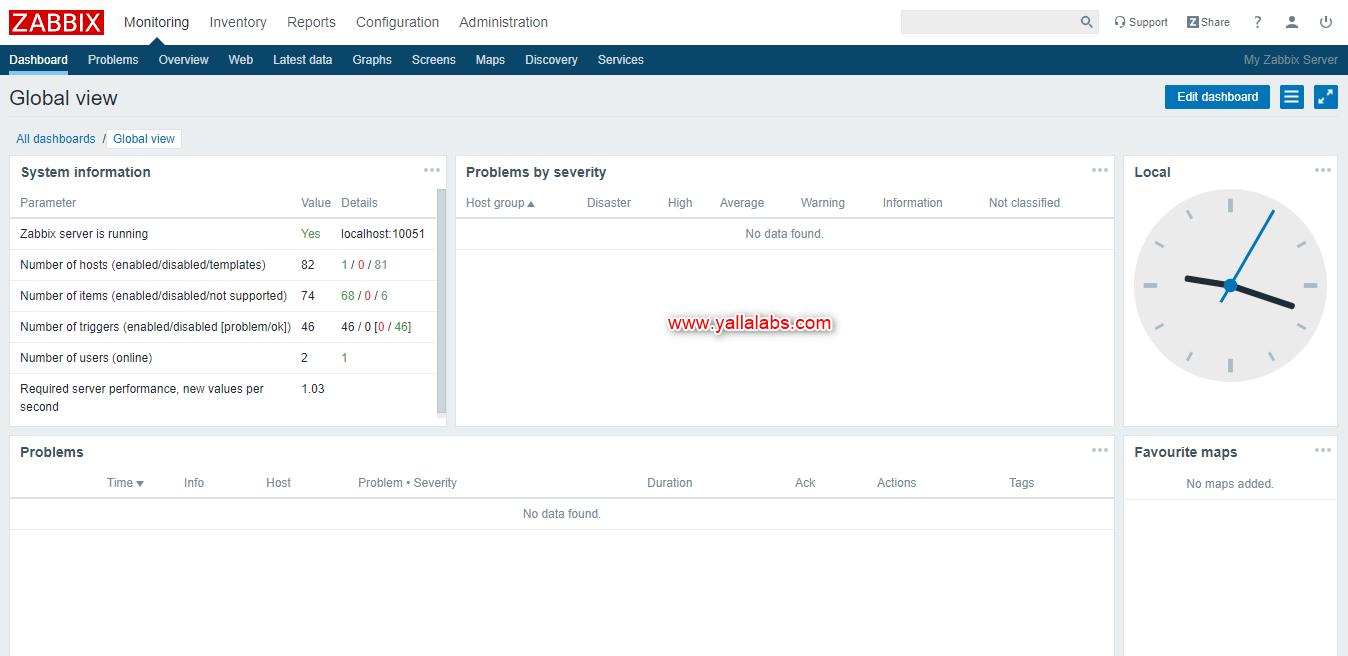 How to Install Zabbix Server 4.0 on Ubuntu 18.4 lts