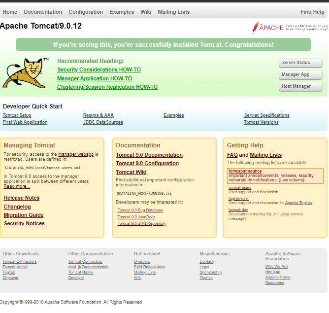 How to install Apache Tomcat 9 Server on CentOS 7