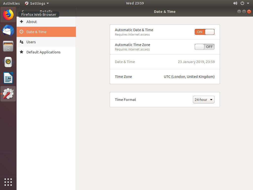 How To Set or Change Timezone on Ubuntu 18.04