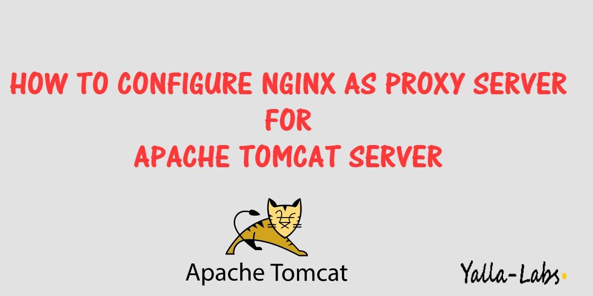 How To Configure Nginx as a Reverse Proxy for Apache Tomcat Server