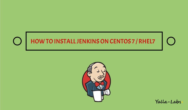 How To Install Jenkins on CentOS 7-rhel 7