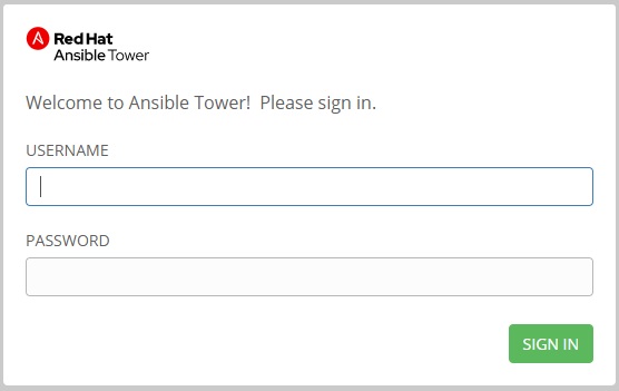 How To install Ansible Tower- Login Page