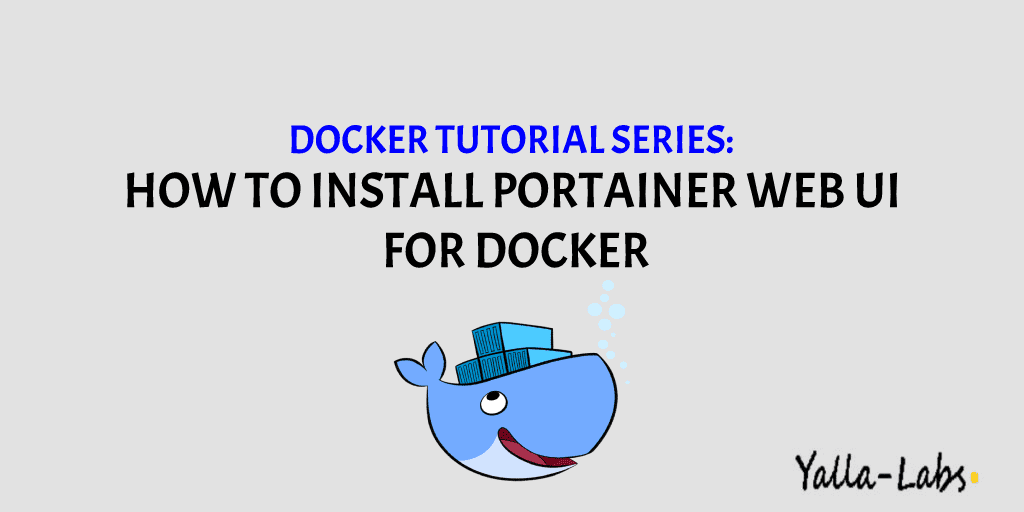 How to install Portainer web UI for Docker