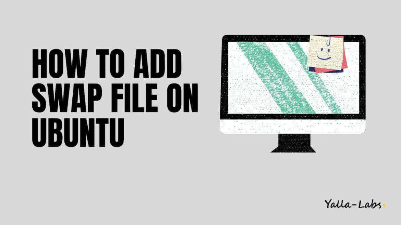 How to Add Swap Space on Ubuntu server