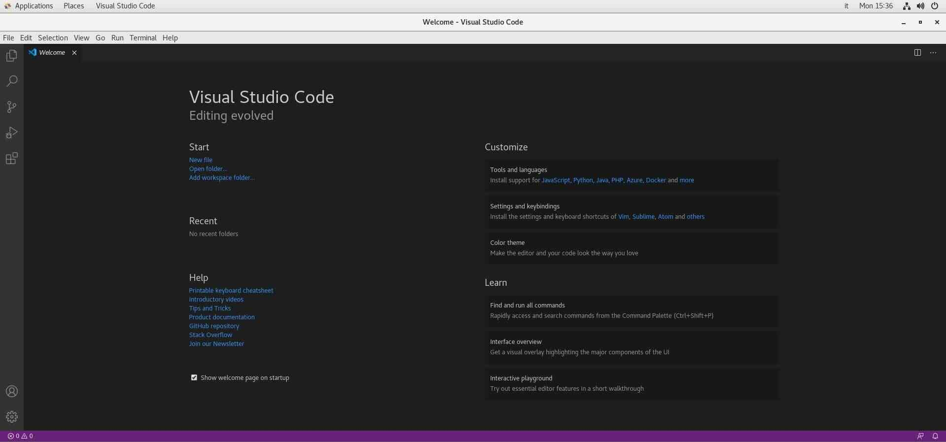 How to Install Visual Studio Code on CentOS