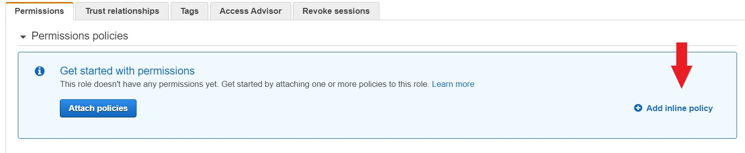 Create vpc flow logs iam policy